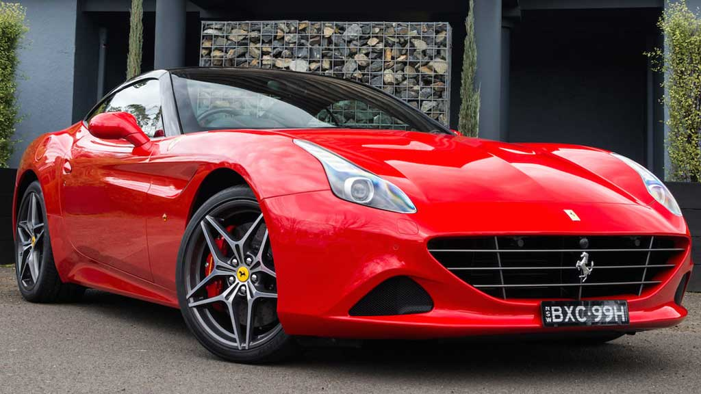 The Ferrari California T.
