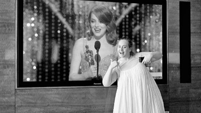 Adele Emma Stone Oscars