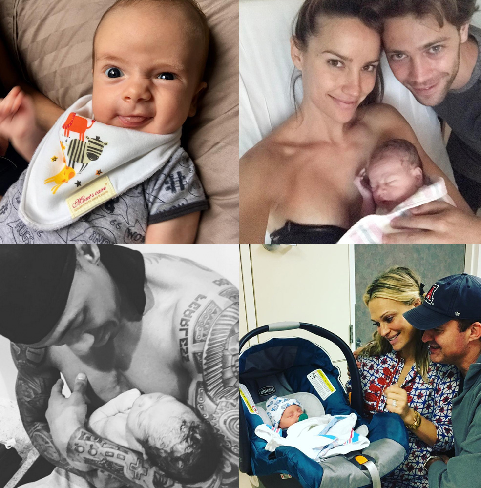 All the celebrity babies born in 2017: Photos