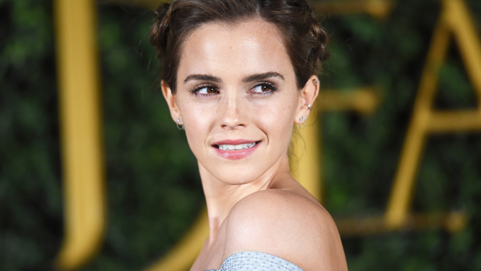 Emma Watson Beauty and the Beast premiere