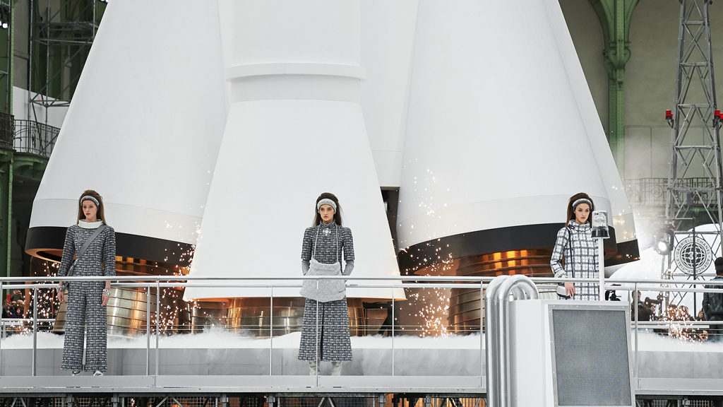The Chanel rocket ready for take off. Image : Getty