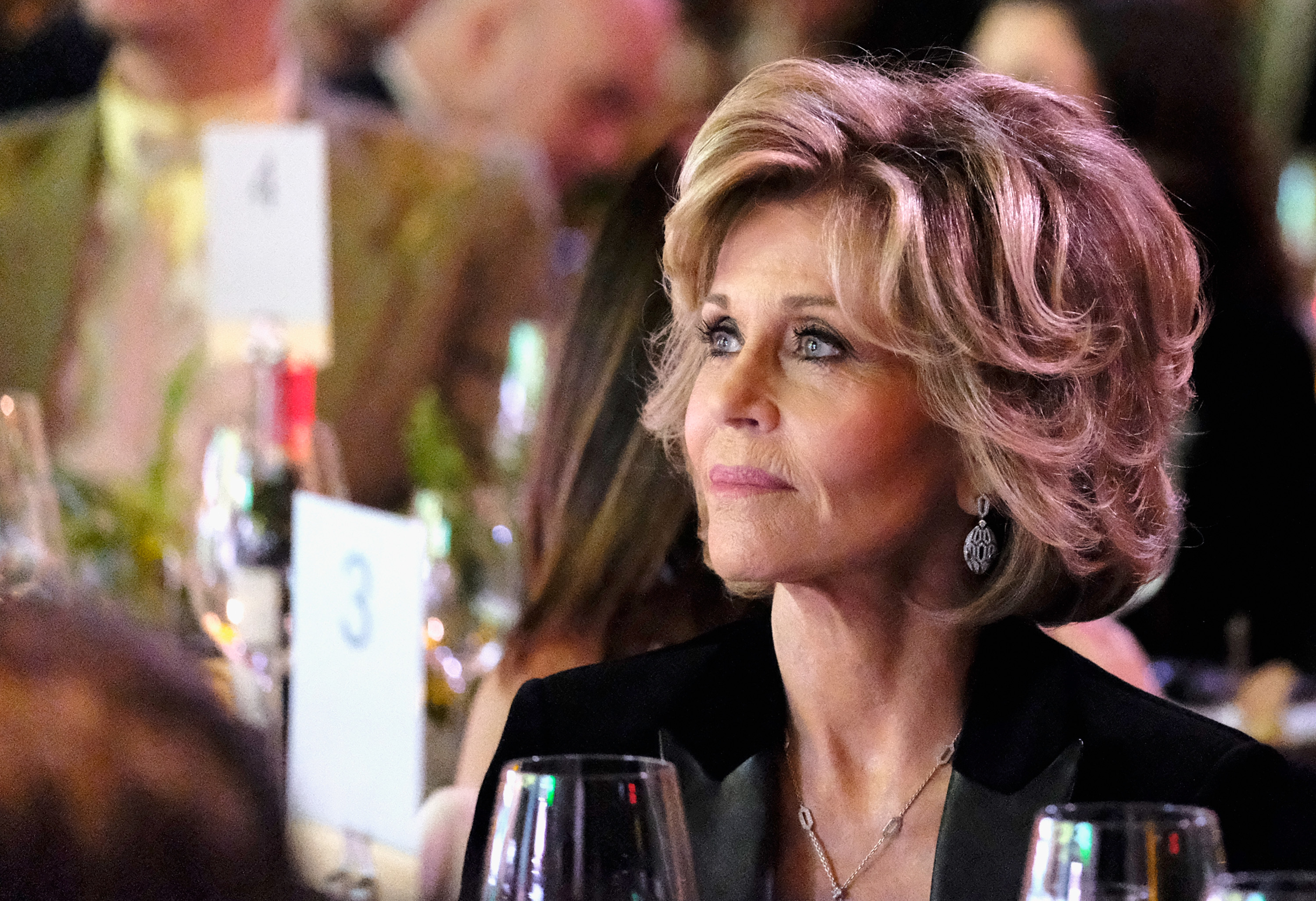 <p>Jane Fonda is a legendary actress and beauty. And neither of those things is diminishing despite the fact she's now 79 years old. Correct. The woman is 79. And she's as gorgeous as ever, and more importantly bursting with enthusiasm and humour.</p> <p>Jane, a two-time Academy Award winner, was this week filming episodes of the sit-com Grace and Frankie alongside former Friends' star Lisa Kudrow and was undeniably stunning. And why not?</p> <p>There's no rule that states women are beautiful during a certain period of life only. It's pretty clear (thanks to Jane and swag of others) that women can be breathtakingly lovely at any stage of life.</p> <p> Do our appearances change as we age? Of course they do, for none of us is Dorian Gray. That said, we can remain gorgeous if we carry ourselves with a bit of style, lead a healthy lifestyle, remind ourselves daily that we're killing it and find a style we love and rock it 24-7. That is really all it takes.</p> <p> You might think Jane is just an anomaly, some kind of freak of nature, but she's far from the only woman who is becoming more beautiful as the years go by. Click through our pic album and you'll very quickly see what we mean.<br /> <br /> </p>