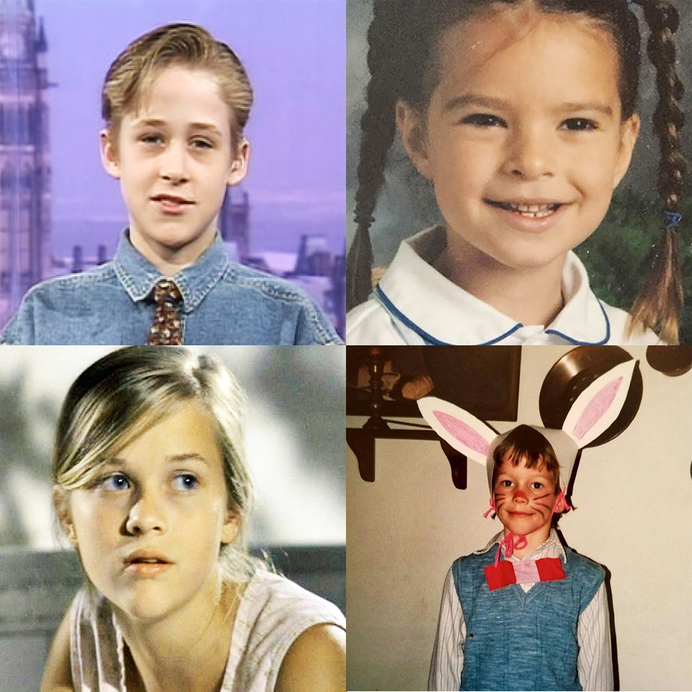 Celebrity childhood photos: Guess who!