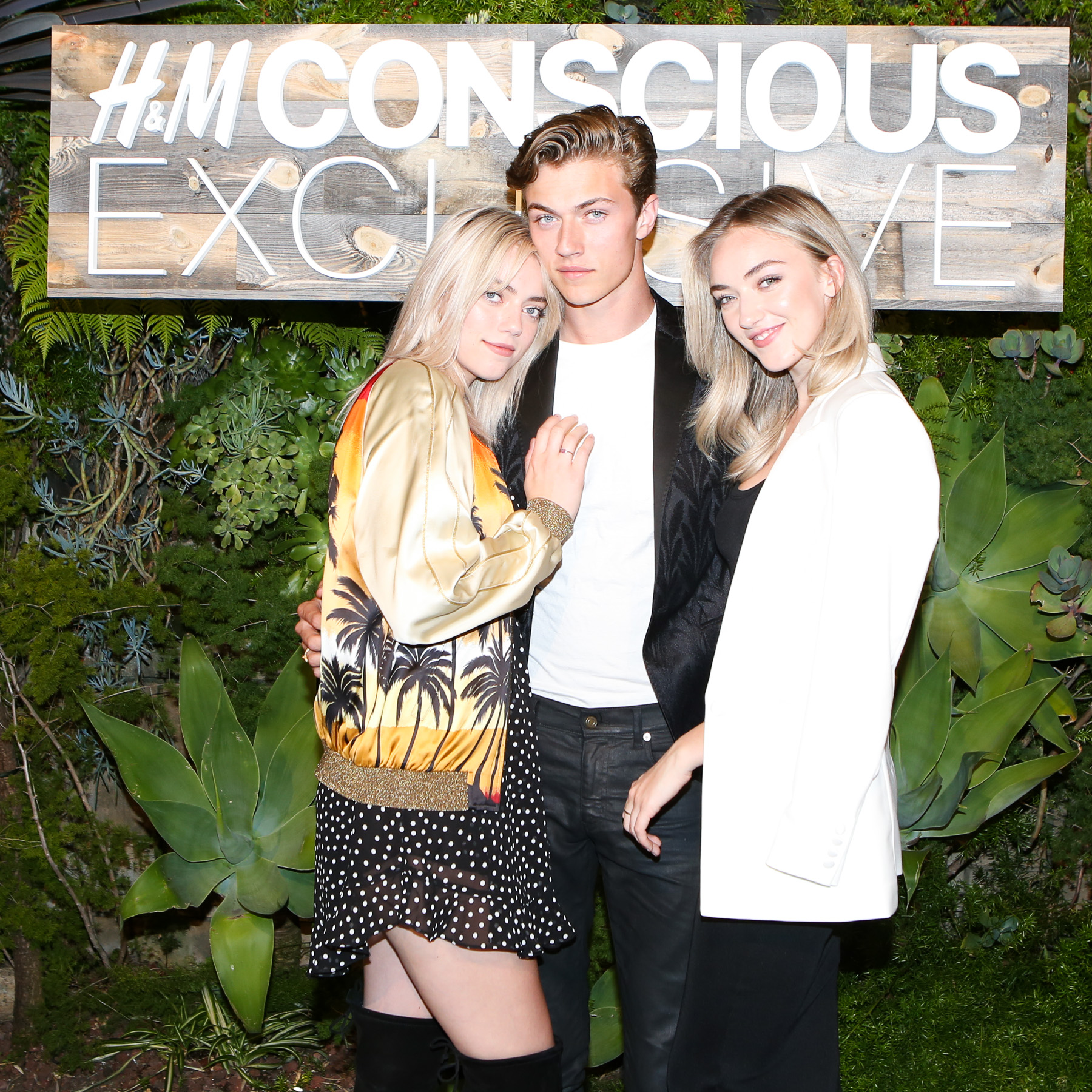 Lucky Blue Smith and sisters Pyper America and Daisy Clementine Smith.