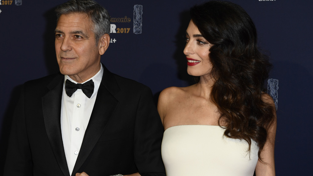 "<p><a href=""http://www.imdb.com/name/nm0000123/"" target=""_blank"">Actor George Clooney</a> and his <a href=""https://en.wikipedia.org/wiki/Amal_Clooney"" target=""_blank"">human rights attorney wife Amal</a> are expecting twins and the internet is already arguing over what the couple might name their offspring. There's also plenty of discussion as to whether the Clooneys will opt for classic, conservative names or unusual monikers as is the current trend in Hollywood. </p> <p>George isn't helping himself (or his wife) by making wisecracks about the monikers he'd like the babies to have. Just this week he told reporters that his current favourite choices had been shot down by Amal. And no wonder really. His suggested names? Casa and Amigos.</p> <p>Clooney, of course, co-owns the tequila company Casamigos with <a href=""https://www.instagram.com/randegerber/?hl=en"" target=""_blank"">Rande Gerber</a> - husband of <a href=""https://www.instagram.com/cindycrawford/?hl=en"" target=""_blank"">Cindy Crawford</a>. We don't imagine that he was seriously considering either name. In fact, our feeling is that the Clooneys will name their babies old-fashioned, simple names, but in reality, we'll have to wait and see. In the meantime here's a collection of sweet snaps of celebrity parents and their bubbas all of whom have names we adore.</p>"