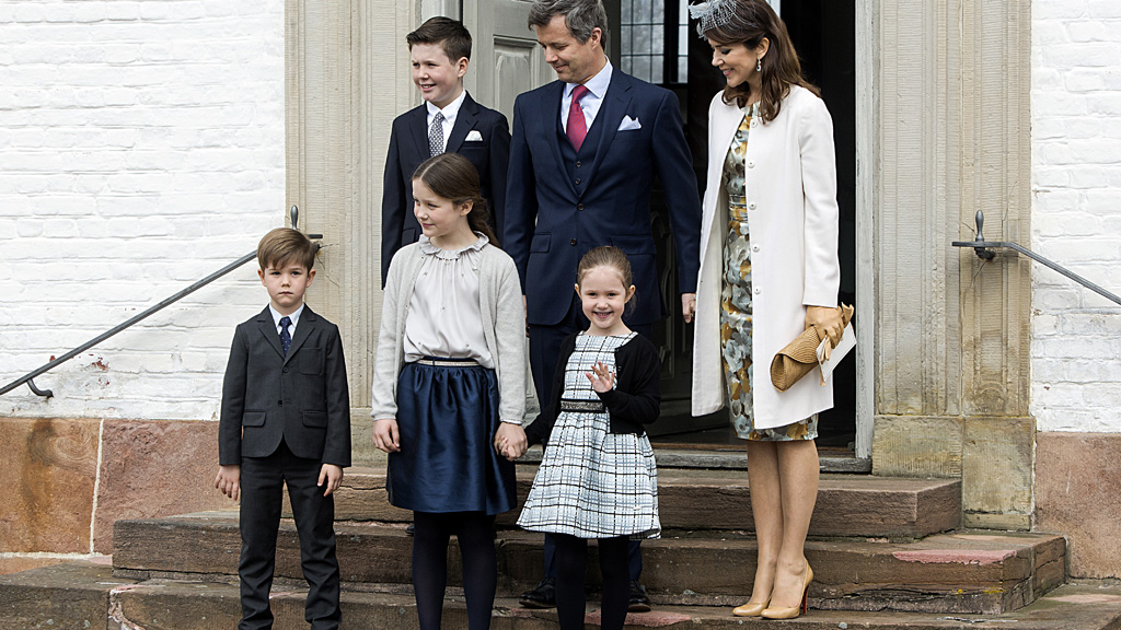 <p>In Europe she is considered more stylish than the Duchess of Cambridge but that doesn't stop Denmark's Princess Mary from wearing the same dress twice or seven times at royal events.</p> <p>The Tasmanian transplant stepped out on Saturday for nephew Prince Felix's confirmation at Fredensborg Palace Church wearing a familiar striking yellow and grey dress from Danish designer Ole Yde.</p> <p>The dress, paired on this occasion with a simple white coat, beige Christian Louboutin heels and a blue headpiece perfect for Flemington racecourse, was most recently worn by Mary at the 100th anniversary of the Danish Constitution in 2015.</p> <p> The favourite dress has also been worn by Princess Mary on visits to Germany in 2013, China and South Korea in 2012 and the US back in 2011.</p> <p> Perhaps Mary was taking comfort in the familiar dress after a busy week spent hosting Belgian royal King Philippe and Queen Mathilde. </p>