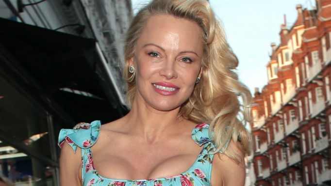 Pamela Anderson shows off sexy curves in new lingerie ads