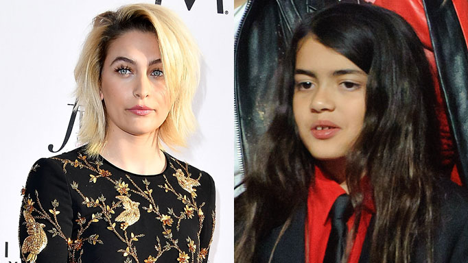 Paris Jackson anxious Blanket is living alone at grandmother's house