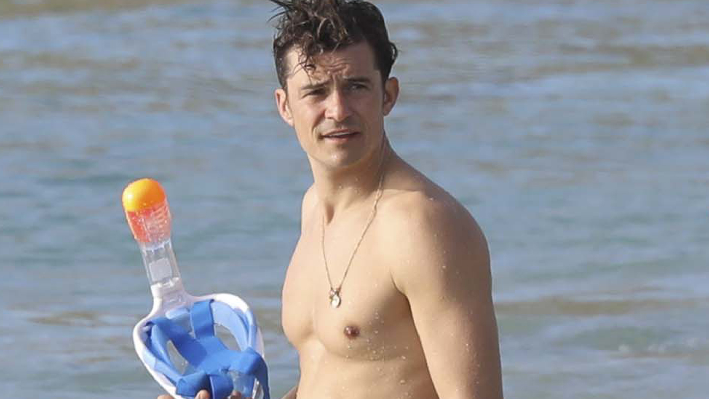 Orlando Bloom wistfully reflects on nude paddleboarding ... Orlando Bloom Paddle Boarding