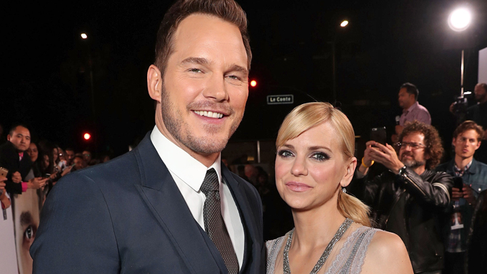 Chris Pratt and Anna Faris in 2016 Image Getty