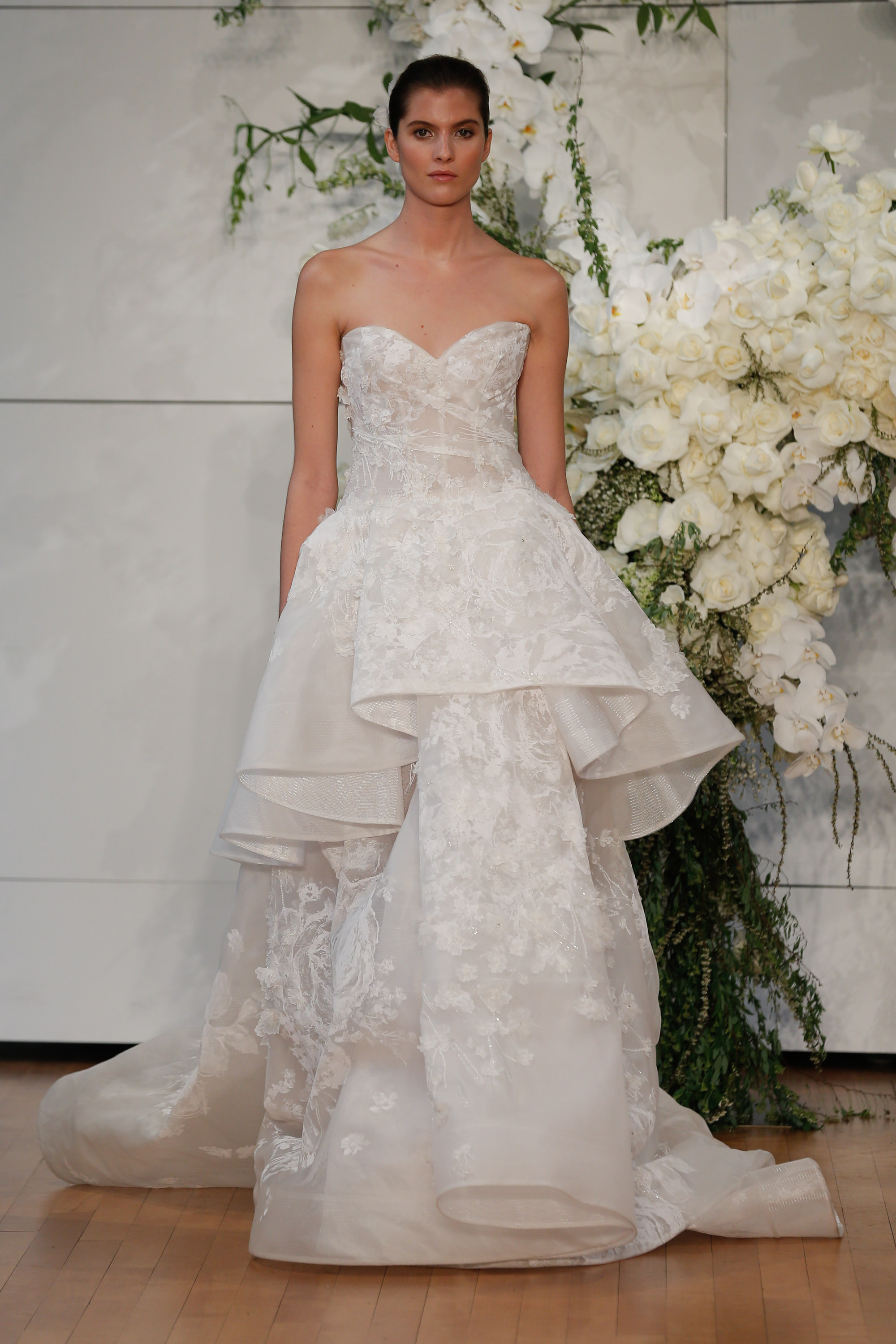 The best wedding dresses from new york bridal fashion week for New york wedding dresses online