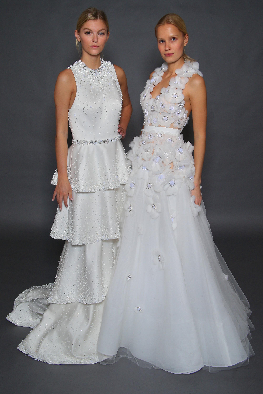 The best wedding dresses from New York Bridal Fashion Week