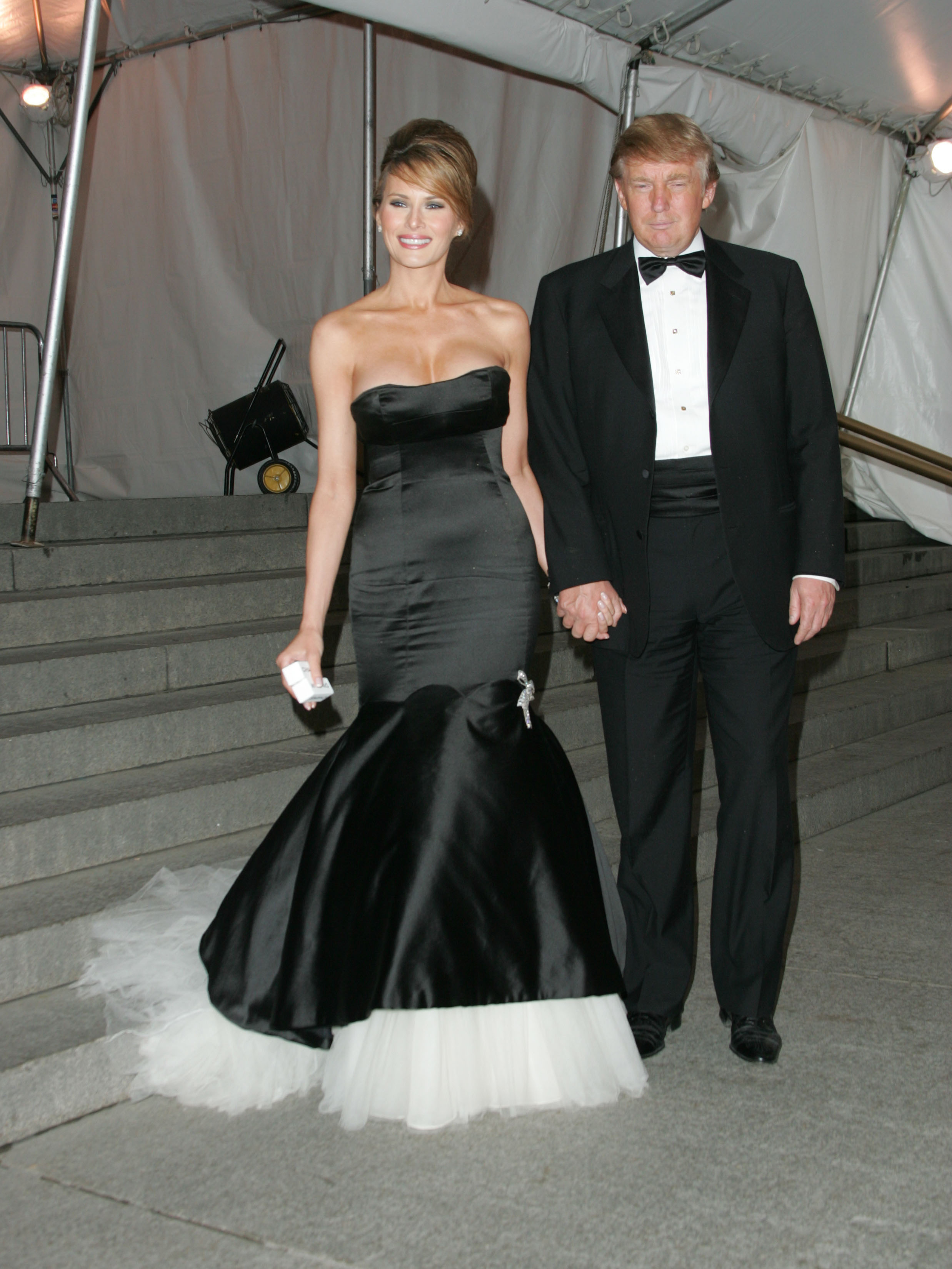 Donald Melania And Ivanka Trump At The Met Gala 9style