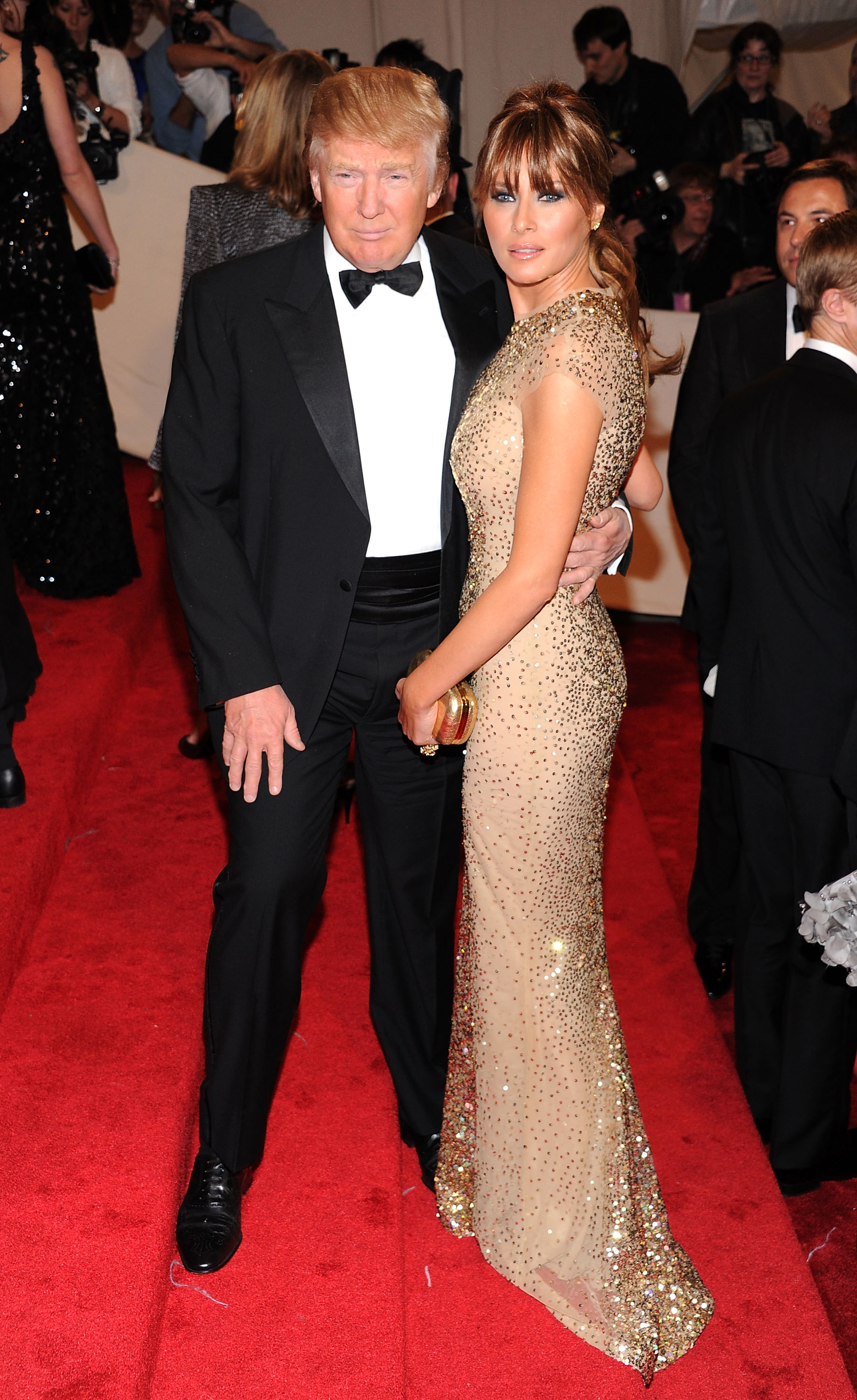 "<p>US President Donald Trump has a long history of attending the <a href=""http://style.nine.com.au/2016/05/03/08/35/met-gala-2016-red-carpet"" target=""_blank"" draggable=""false"">Met Gala</a>, that first Monday in May where the cream of fashion gather to support New York's Costume Institute and get their pictures in the social pages. Despite decades of support, neither the President, his First Lady Melania nor First Daughter Ivanka will be on the red carpet this year.</p> <p> The snub might have just as much to do with the long <a href=""https://style.nine.com.au/2017/03/13/10/05/melania-trump-designer-refuse-zac-tom-ford-marc"" target=""_blank"" draggable=""false"">list of designers</a> who refuse to dress the Trump as the demands of running the country and making late night tweets.</p> <p> This year's theme is based around the exhibition <em>Rei Kawakubo/Comme des Garçons: Art of the In-Between</em>, which will chronicle the influential work of the 74-year-old Japanese fashion designer.<br /> Rei Kawakubo launched Comme des Garçons in 1969 and is only the second living designer to be the subject of a Met exhibit after Yves Saint Laurent in 1983.</p> <p> The Trump's have never loyally dressed to the event's theme, with the exception of Ivanka's memorable headdress in 2008 at S<em>uperheroes: Fashion And Fantasy</em> but their selections are a catalogue of excess and cashed up glamour.</p> <p>Image: Donald and Melania Trump attend the Alexander McQueen: Savage Beauty Costume Institute Gala at The Metropolitan Museum of Art on May 2, 2011.</p>"