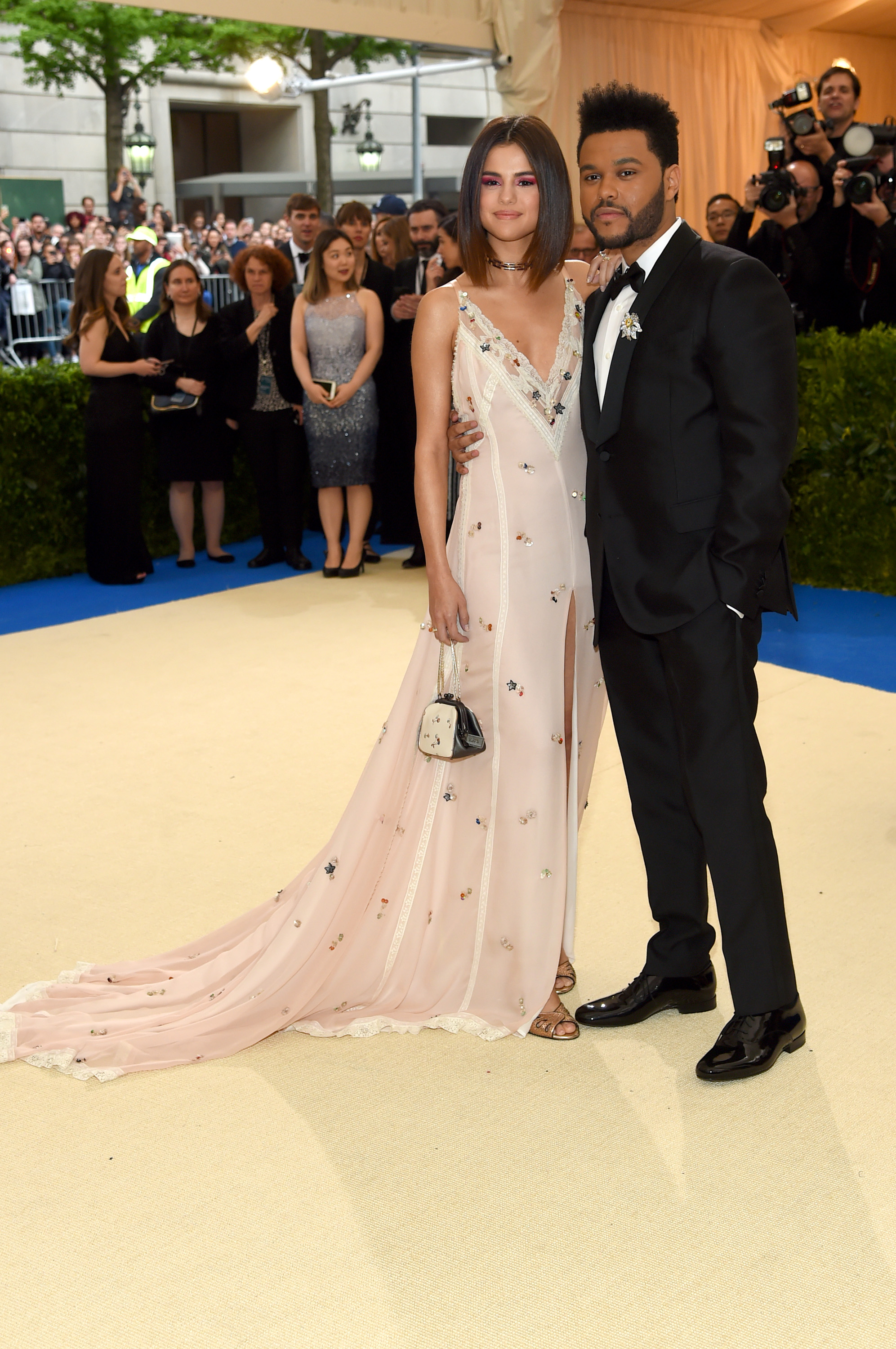 <p>When you're an A-list couple and you want the world to know how very stylish you are, the Met Gala is the place to be.</p> <p>Pop stars Selena Gomez and boyfriend The Weeknd (Abel Tesfaye to his mother) know that of course and the super cool couple took the opportunity to showcase both their outfits (chic) and their love (legit). </p> <p>They weren't the only dashing duo to make an entrance at the 2017 Met Gala, Rei Kawakubo/Comme des Garcons: Art Of The In-Between, however. In fact, this was seemingly the year of the red carpet couple with too many to count. Click through to see our pick of the most stylish.</p>