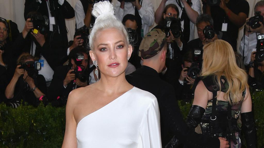 Kate Hudson's unusual hair decision