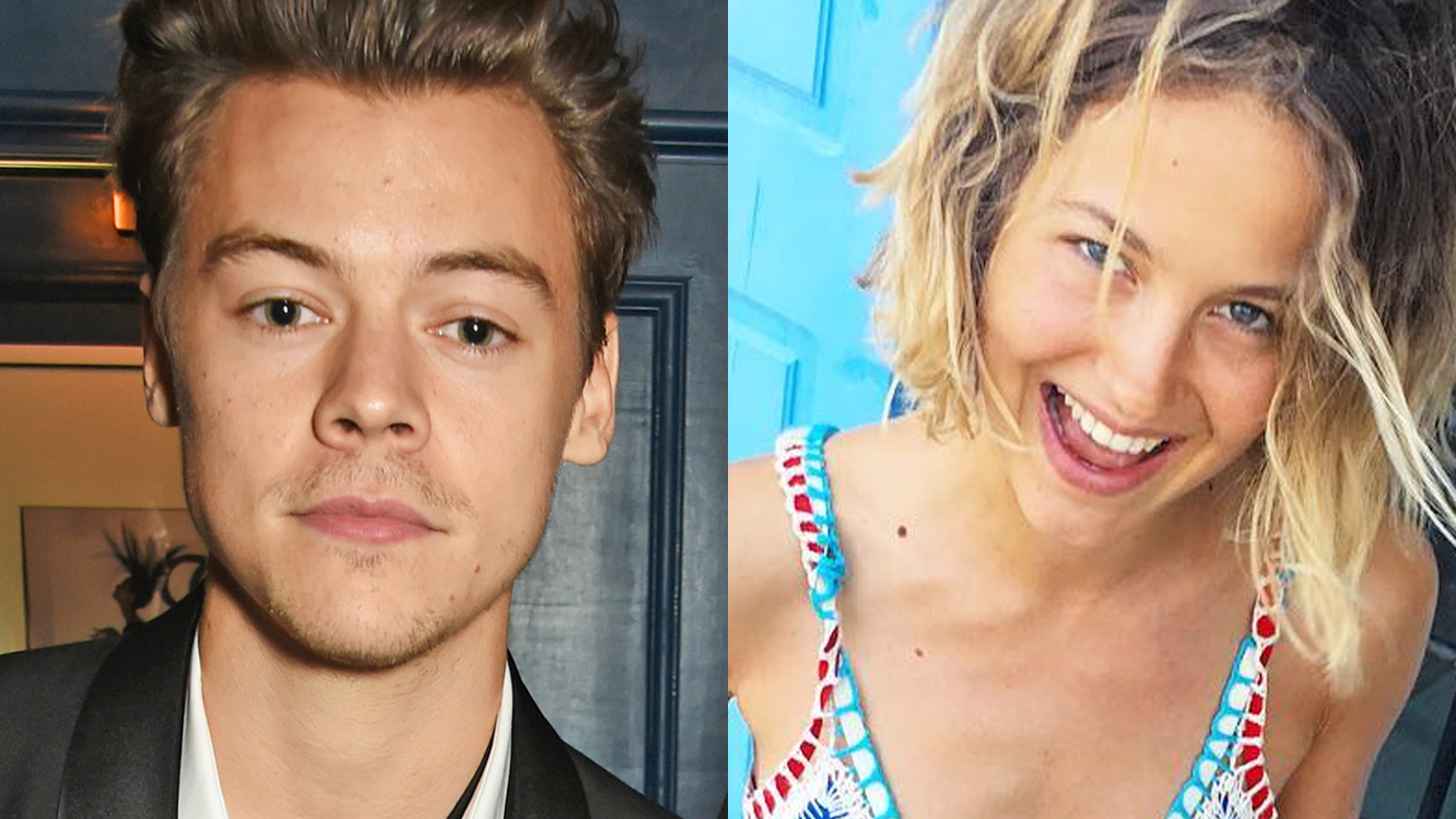 Harry Styles and Tess Ward