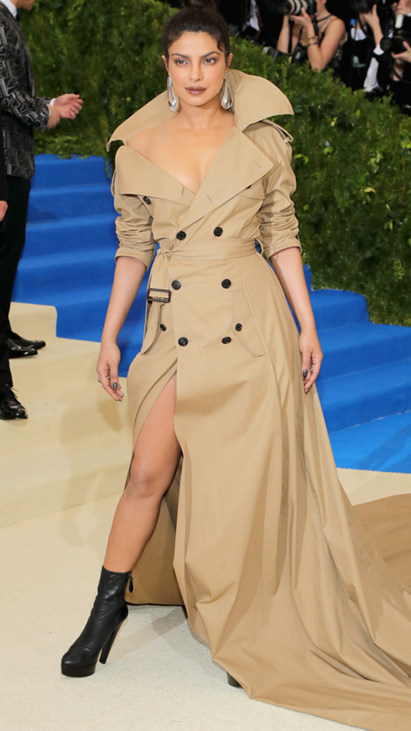 "<p>In a woman's wardrobe arsenal the essential weapon is the trench coat. At the <a href=""https://style.nine.com.au/2017/05/02/08/15/met-gala-red-carpet-2017/3"" target=""_blank"">Met Gala</a>, Priyanka Chopra deftly demonstrated the sex appeal of Ralph Lauren's variation, worn with little except confidence.</p> <p>The jacket rose to prominence in the first World War, replacing heavy woolen versions but was adopted by women when Hollywood stars such as Katharine Hepburn and Marlene Dietrich embraced its versatility.</p> <p>Here are the top 10 trenches this season to keep you winning the style wars.</p>"