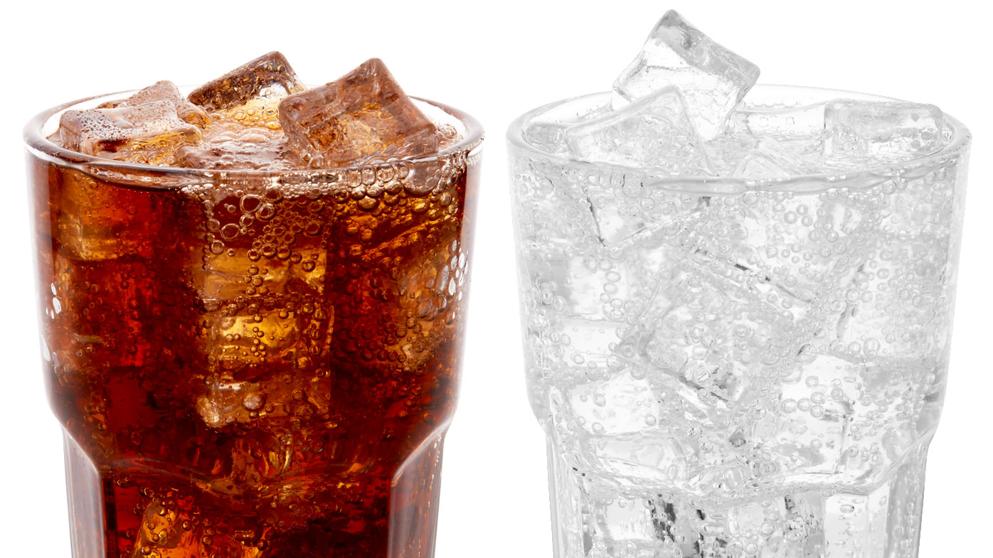 Carbonated water in fizzy drinks could be causing sneaky for Sparkling water mixed drinks