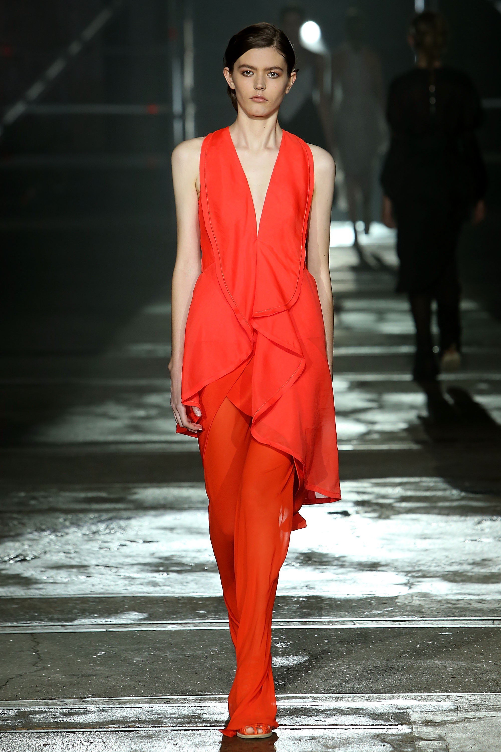 <p>Kit Willow is officially the comeback kid of Mercedes-Benz Fashion Week Australia with her KitX show triumphantly closing Day four of the event.</p> <p>After the much publicised loss of her label Willow following a business deal where there were few winners, Kit has returned with an ethical focus that has honed and elevated her creativity.</p> <p>Willow was a label playing successfully in the same ballpark as sass & bide and street wear brands but KitX takes dressing to the next level.</p> <p>Jackets with sliced and knotted sleeves, deconstructed trench coats and Ikat print jumpsuits manage to combine a focus on sustainability with current trends.</p> <p>It's no wonder that the thinking women of Hollywood, such as Emma Watson, have already embraced the label and Australia's intelligent dressers are sure to follow.</p> <p>Kit lives and breathes what she is selling (unlike some designers who turn up their noses at wearing their own label) as it the best advertisement for the KitX woman. To prove her point she styled the incredible show herself.</p> <p>Kit Willow is not only back where she belongs, she's moved to a nicer postcode.</p>