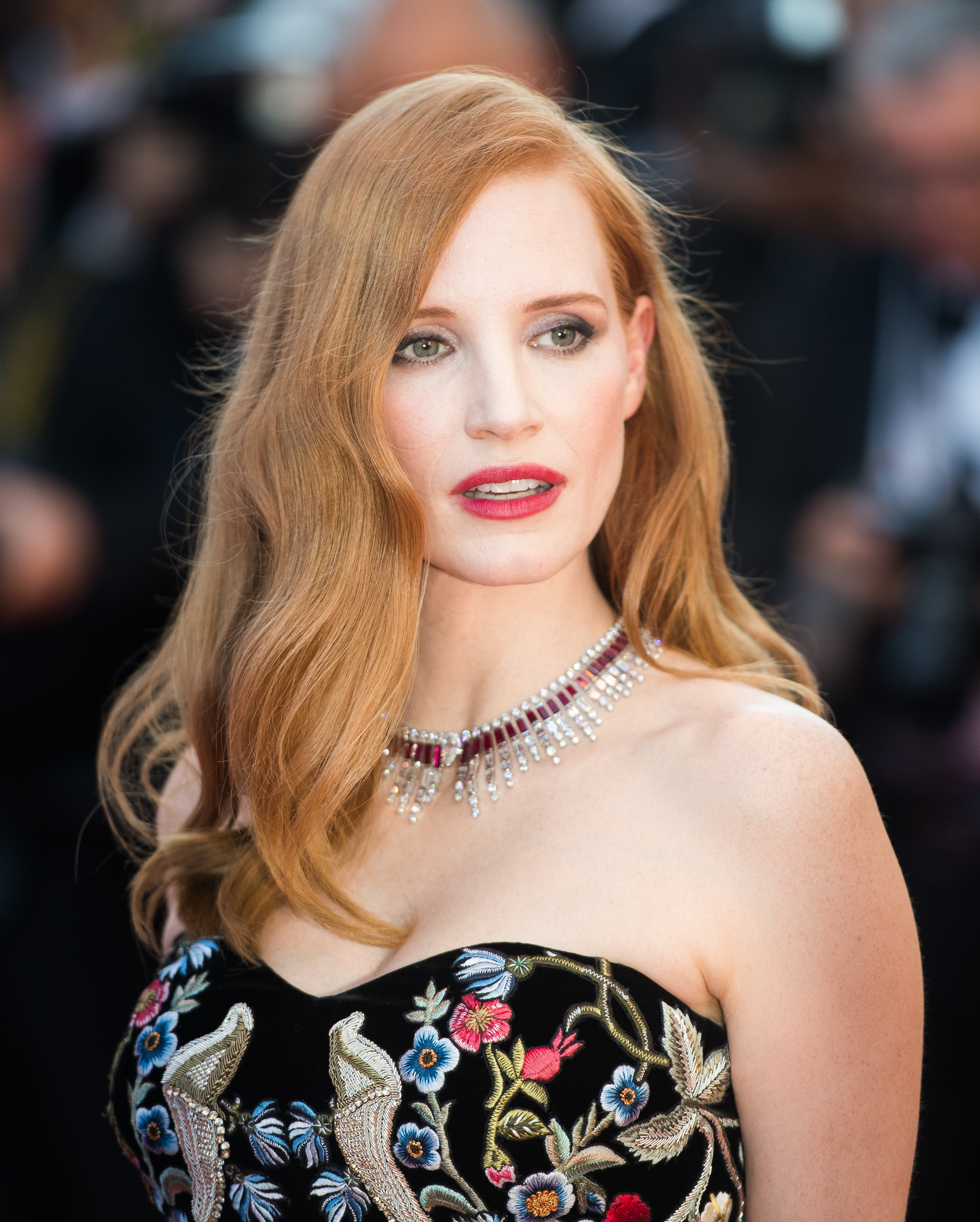 "<p>Actress Jessica Chastain made a show-stopping entrance on the opening night of the<a href=""http://style.nine.com.au/2017/05/18/09/09/style_cannes-red-carpet-arrivals-2017"" target=""_blank"" draggable=""false""> 70th Cannes Film Festival</a>, in a Gothic-inspired Alexander McQueen gown. </p> <p>Despite the striking detail on her designer dress, it was the actress's bright red lips, tousled waves and soft smokey eye makeup that drew just as much attention.</p> <p>The acclaimed film festival is one of the most glamorous  red carpet events of the year, and brings a mixture of A-lister's to the captivating French town for a week of film, fashion and most importantly beauty. </p> <p>From Uma Thurman's sleek short haircut to Lily-Rose Depp's Grecian- inspired look, this year's Cannes red carpet has more than delivered an array of dazzling beauty looks to be inspired by.</p> <p>Click through to see all the beauty highlight's from the 2017 Cannes Film Festival.</p>"