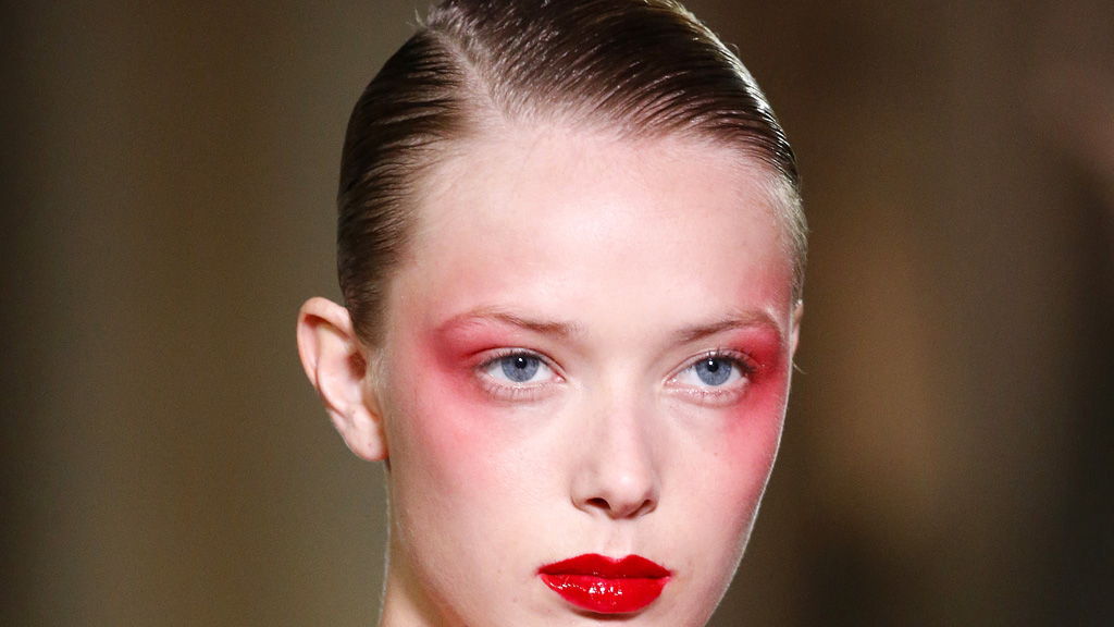 Red lipstick has a bold new use