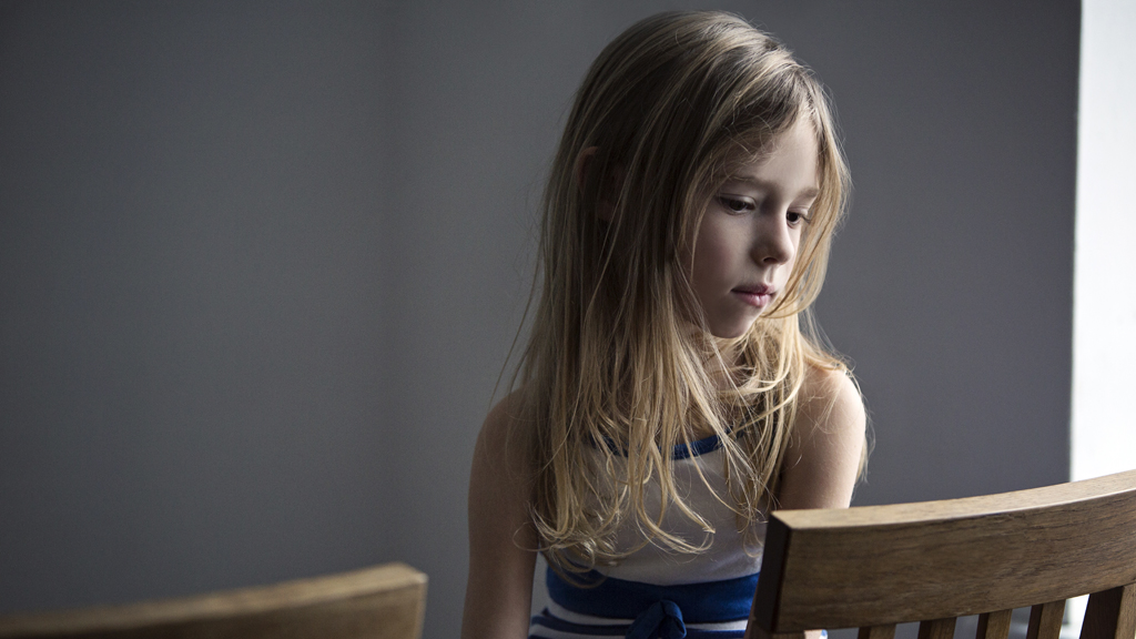 Anxiety and stress levels are on the rise amongst Australian kids. Image: Getty.