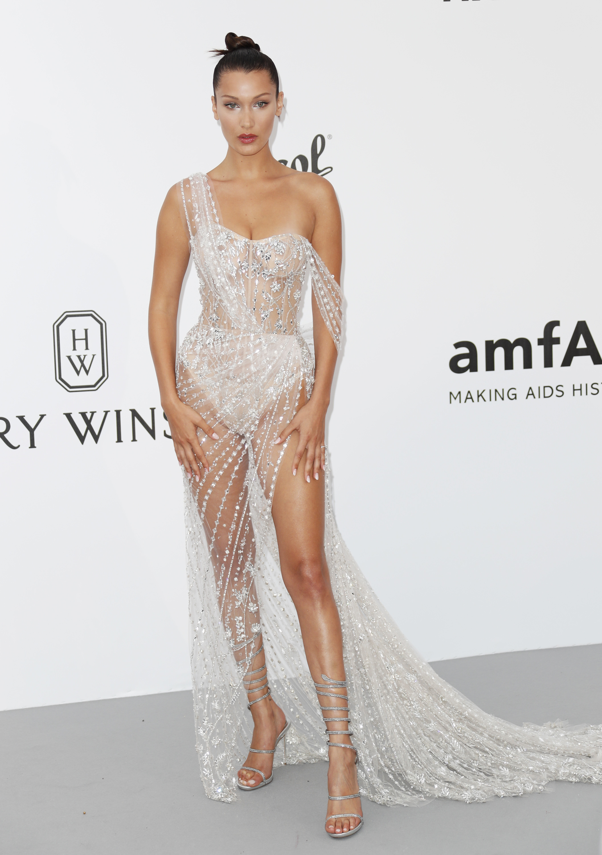 The Nude Dresses Ruling The Cannes Red Carpet 9style