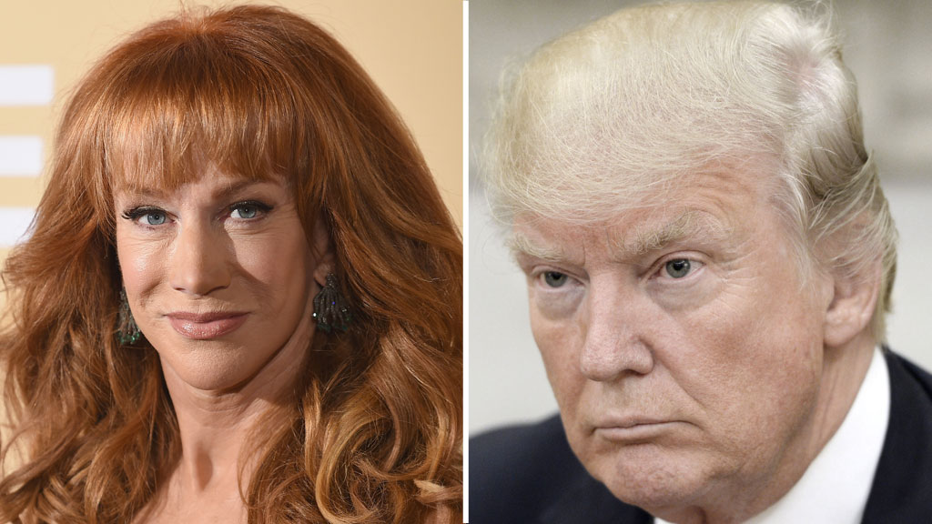 Kathy Griffin fired by CNN over Trump photo controversy
