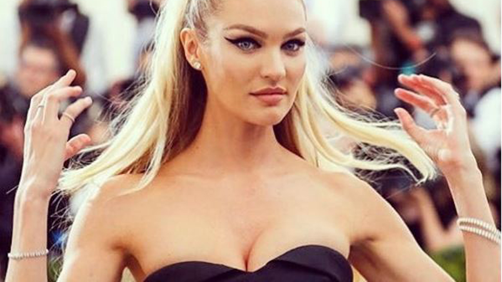 Candice Swanepoel Returns to Her Role as a VS Angel After Baby