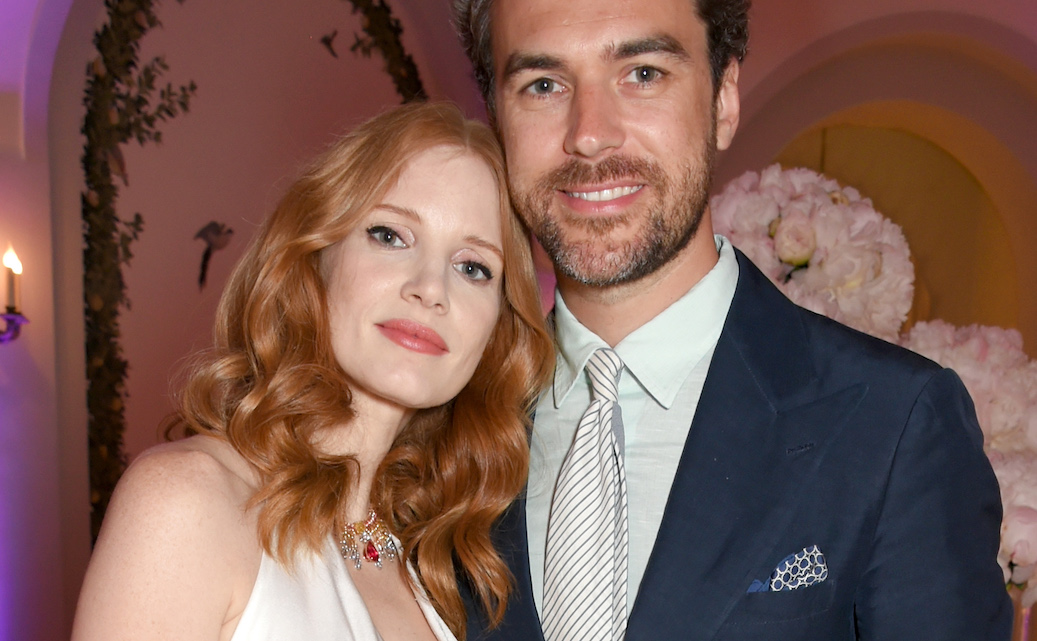 Jessica Chastain Marries Gian Luca Passi de Preposulo in Romantic Italian Wedding