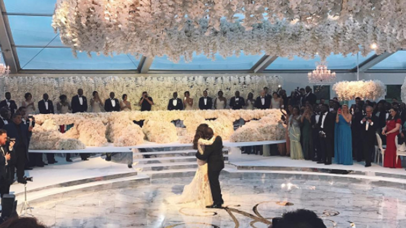 Alakija's son throws the 'most lavish wedding ever'