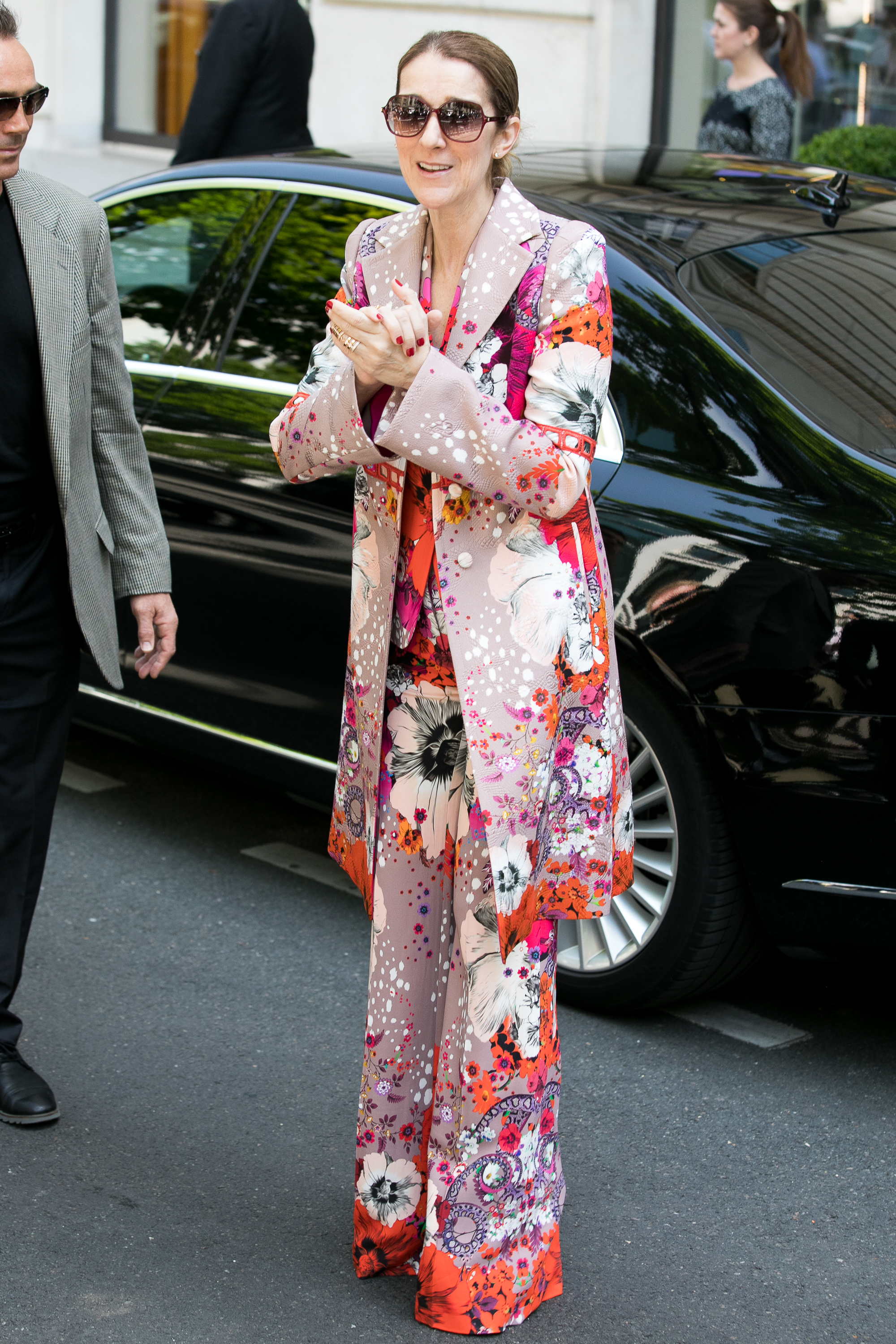 """<p>It has taken three decades but Celine Dion, 49, is now officially a fashion A-Lister.</p> <p>The trim Canadian singer has had more red carpet hits than misses in the past (including that back to front Oscars outfit in 1999) but since the tragic death of her husband Celine has blossomed into a high fashion favourite.</p> <p>Yesterday she stepped out in Paris wearing a three piece Roberto Cavalli suit which attracted almost as much attention as the news of her upcoming lifestyle brand with Nordstrom.</p> <p>""""I'm excited at this opportunity to launch my collection withNordstrom. They're a wonderful company with great stores, and I'm proud to be associated with them,"""" Celine said in <a href=""""http://wwd.com/fashion-news/fashion-scoops/celine-dion-lifestyle-collection-debut-nordstrom-10913421/"""" target=""""_blank"""">WWD</a>. """"My collection is all about affordable luxury, and we've created beautiful designs with excellent quality and I can't wait for everyone to discover all of this at Nordstrom.""""</p> <p>While we wait for the accessories to land, let's take a look at Celine Dion's evolution from daggy diva to Balmain babe.</p> <p></p> <p>Singer Celine Dion is seen on June 14, 2017 in Paris, France.</p>"""