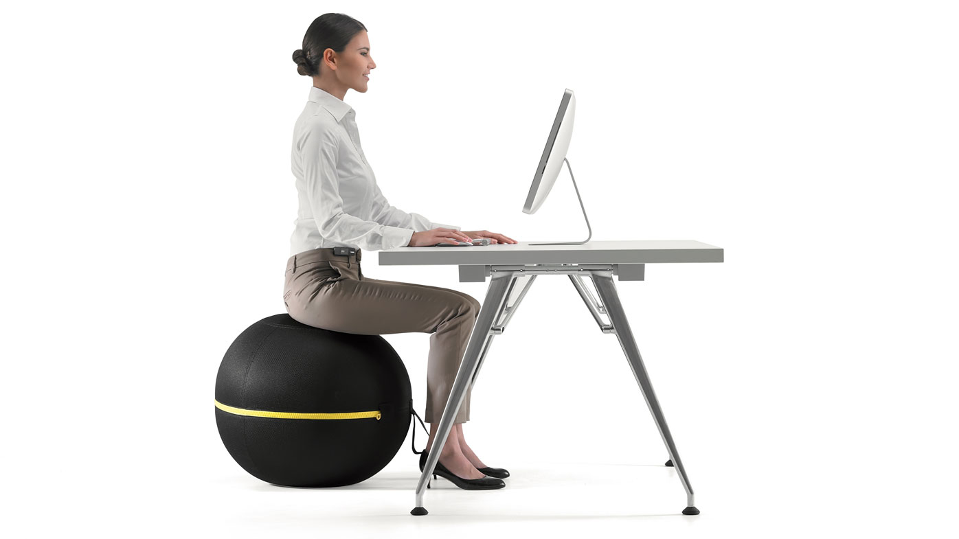 The benefits of active sitting: what happened when I sat on a giant ball at work for a week