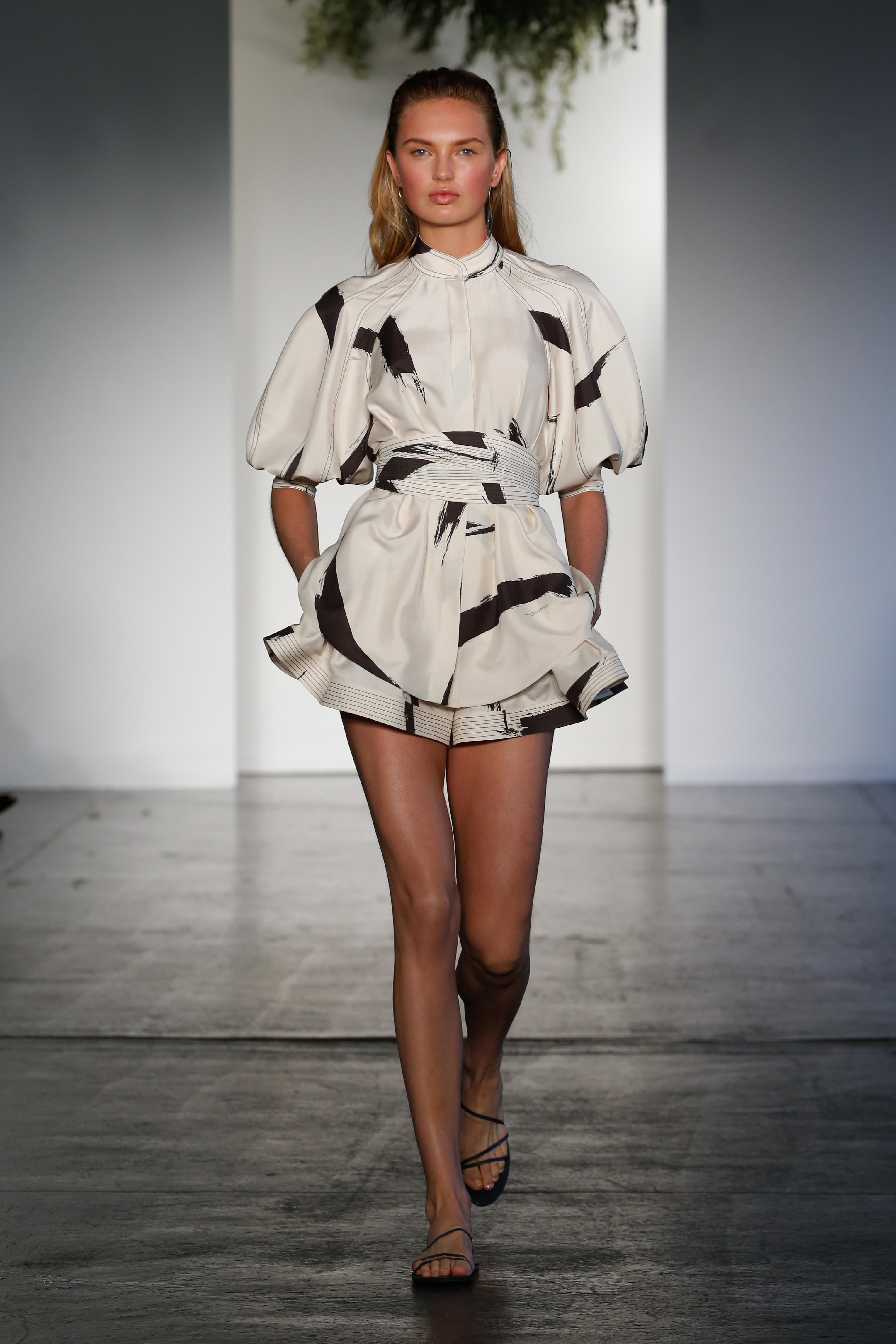 "<p>There was a cool confidence to Australian label Zimmermann's New York runway show for resort embodied by model Romee Strijd who opened the romantic presentation.<br /> <br /> The <a href=""http://style.nine.com.au/2016/12/01/07/46/victorias-secret-2016-paris-gigi-bella-adriana-kendall"" target=""_blank"">Victoria's Secret</a> angel led the way with textured linens, cotton day dresses and painterly strokes ushering in the new season. <br /> <br /> ""Resort is always a collection for us to have fun with, to keep relaxed and to explore ideas and themes that are inherently Zimmermann at their heart. Our muse for the season is passionate, creative, she's feminine but strong and independent,"" says the label's creative director Nicky Zimmermann.<br /> <br /> The Australian brand, which found fame with swimwear had been focusing on the US with stores in Los Angeles and New York.  </p> <p> See their latest looks here.</p> <p><em><strong>Romee Strid for Zimmermann Resort '18, New York </strong></em></p>"