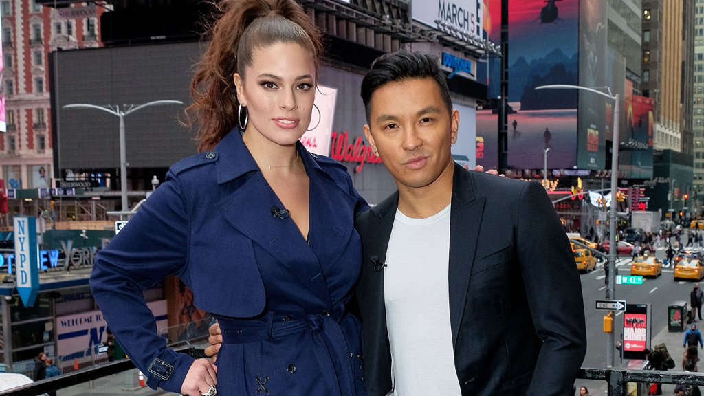 Ashley Graham with Prabal Gurung. Image: Getty