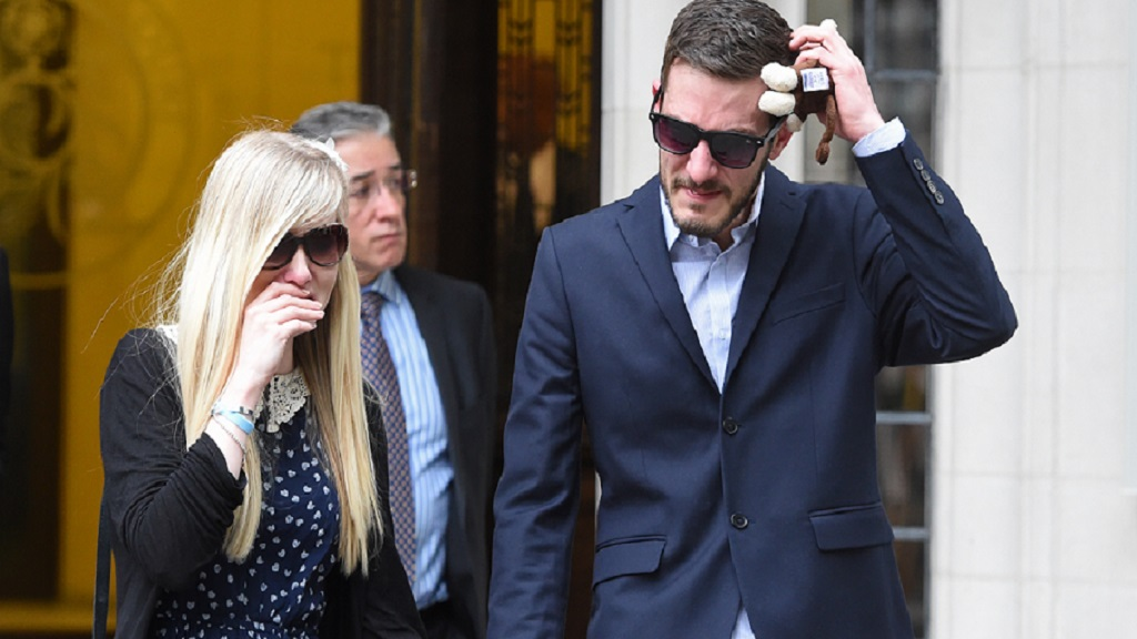 Terminally ill baby Charlie Gard's parents 'upset' by European court decision
