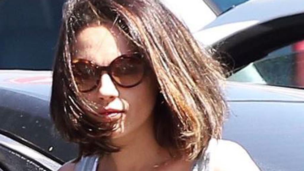 Mila Kunis's short hair shake-up