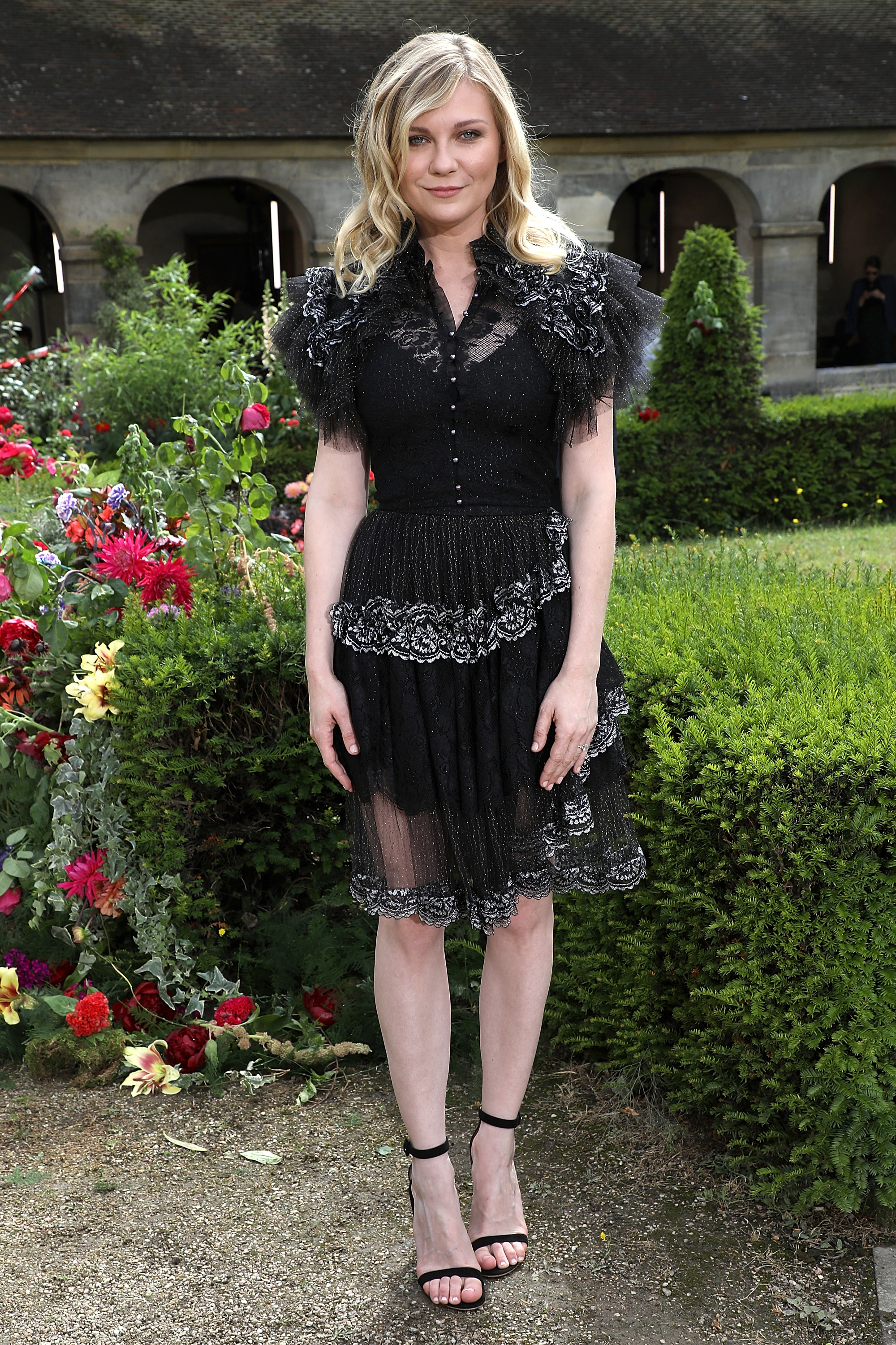 "<p><a href=""https://style.nine.com.au/kirsten-dunst"" target=""_blank"" draggable=""false"">Hollywood actress and star of <em>The Beguiled </em>Kirsten Dunst</a><em> </em>donned a new take on power shoulders to support her designer friends, the Mulleavy sisters, for Rodarte's Paris premiere at Haute couture.</p> <p>In a dress reminiscent of the sister act's designs for Black Swan, Kirsten joined Brie Larson and Tracee Ellis Ross at the chic showing.</p> <p>While the models were red carpet ready in extravagant gowns, with hair festooned with flowers, this season's front row have dialled back the glamour, balancing sleek looks with a slightly undone approach to beauty.</p> <p>The era of dressing like a peacock to attract photographer's attention may be over, with jaunty jumpsuits, prim tunics and urban trenches the order of the day.</p> <p>See the winning looks from day one of haute couture here.</p>"