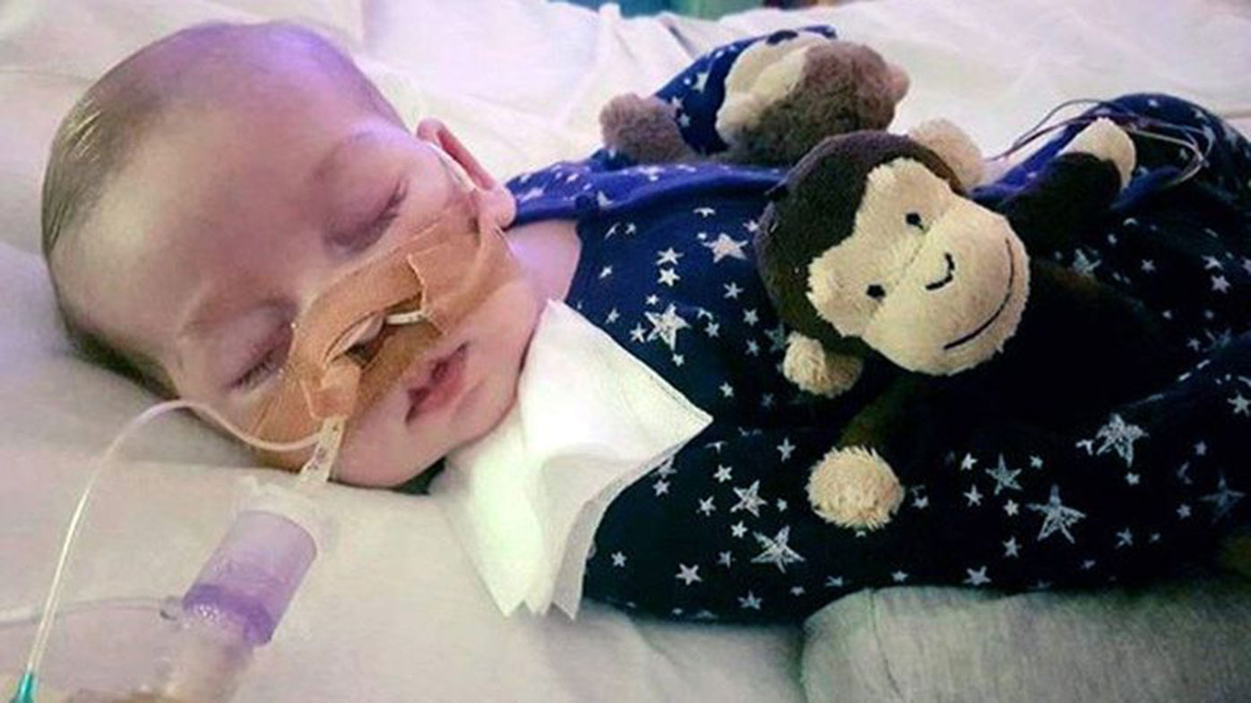 Charlie Gard's parents have been fighting to take him to the US for experimental treatment. (AAP)