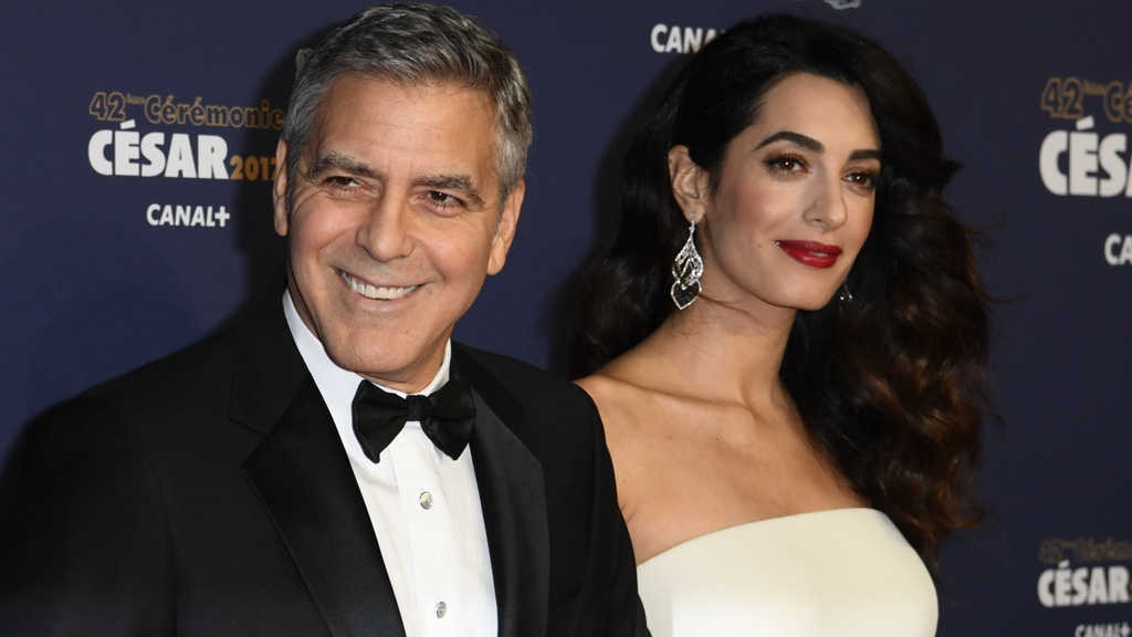 Good news for George and Amal Clooney this week. Image: Getty.