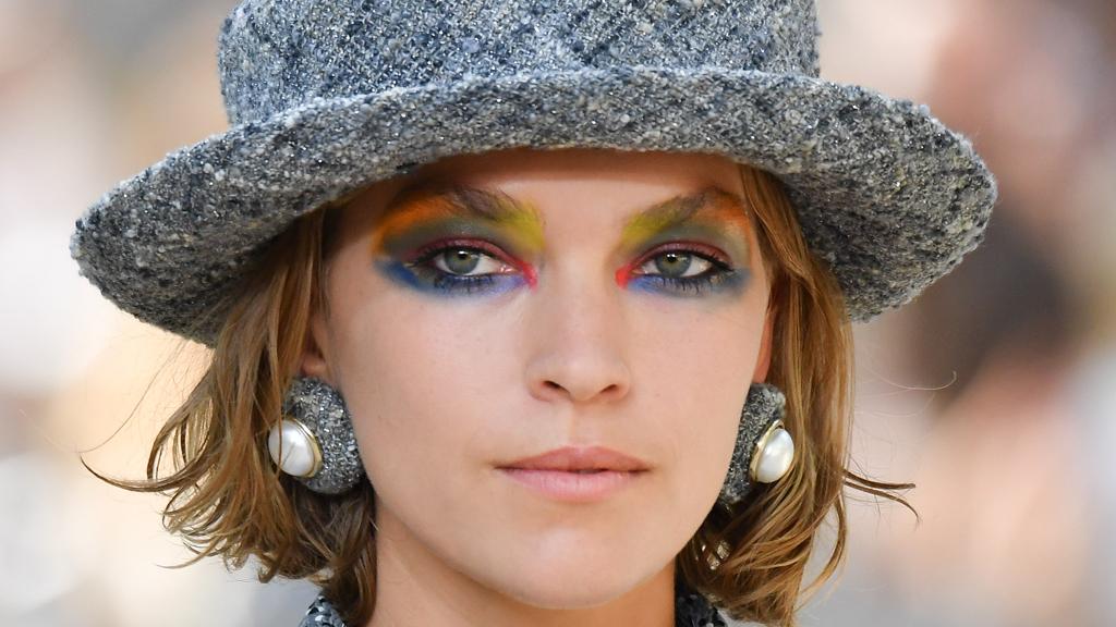 Chanel does unicorn makeup