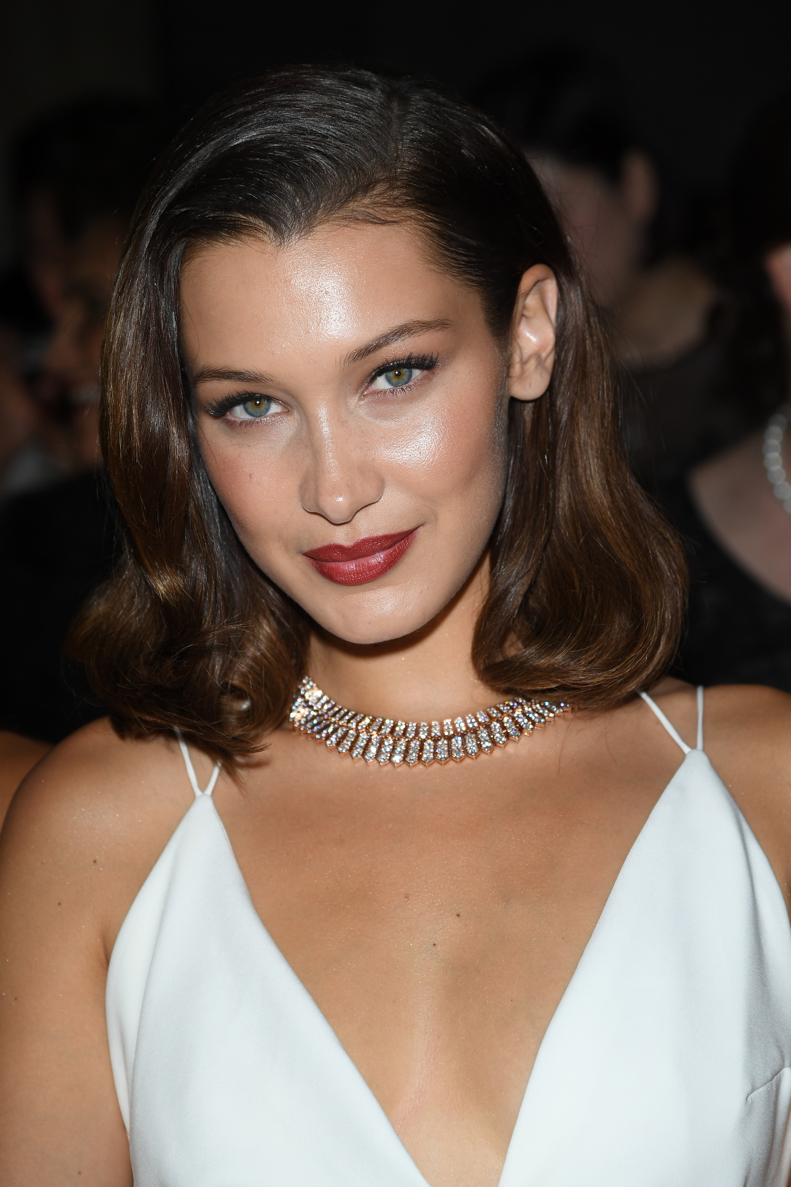 "<p>Nobody has left a bigger designer-clad shoe print on the runways and sidewalks of 2017 haute couture fashion week than model Bella Hadid.</p> <p>The 20-year-old has dazzled(sometimes quite literally) in the city of light in an array of revealing, sheer and some non-existent outfits.</p> <p>And we just can't get enough. </p> <p>Bulgari jewels, sheer tops, high-slit gowns and metallic gold hair are just some of the arresting items Bella has rocked during her fashion week extravaganza.</p> <p>The younger Hadid sister has been a force on the runway,<a href=""https://style.nine.com.au/2017/07/05/09/13/style_alexandre-vauthier-haute-couture-show"" target=""_blank"">walking for designers Alexandre Vauthier,</a> Fendi and Maison Margiela and dripping in diamonds on the streets of Paris and Venice for her off-duty appearances.</p> <p>Click through to see the best of Bella Hadid at this year's haute couture fashion week.</p>"