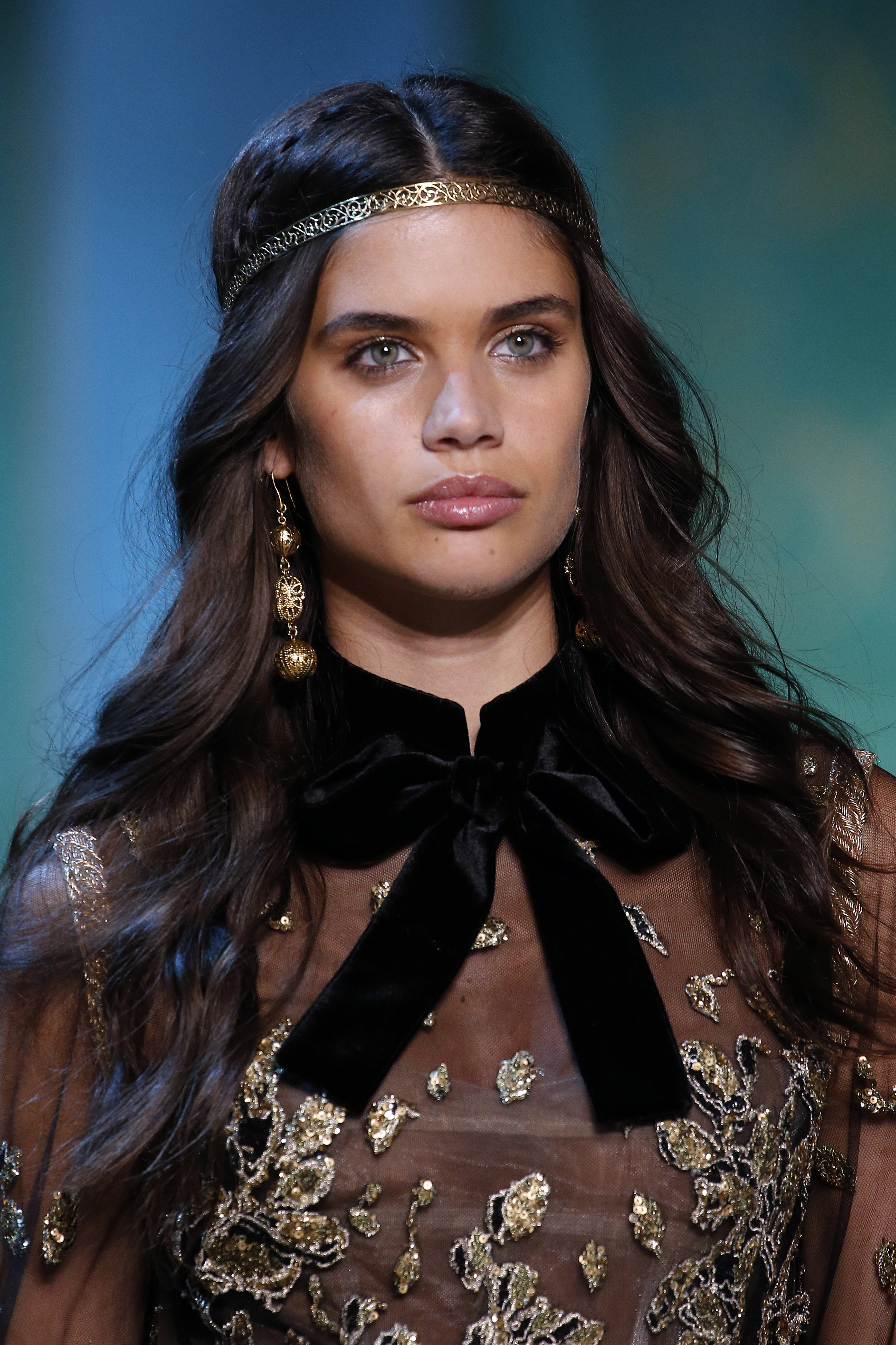 """<p>Paris Fashion Week 2017 has been a whirlwind of jaw-dropping, show-stopping beauty looks - each one every bit as mesmerising as the made-to-measure garments.<br /> <br /> For the past few seasons beauty looks have been pared back with the fashion doing ALL of the talking. But 2017 has seen a dramatic turnabout with makeup and hair that's been flawless- and we couldn't be more excited. For example ...<br /> <br /> Makeup artist Tom Pecheux created a glowing, golden beauty look to match the<em> Games of Thrones</em>-inspired headpieces and soft-waves sported by the models at Ellie Saab. </p> <p>There was golden locks at Maison Margiela, fresh floral wreathes at Rodarte and<a href=""""https://style.nine.com.au/2017/07/05/09/13/style_alexandre-vauthier-haute-couture-show"""" target=""""_blank"""" draggable=""""false""""> smokey disco eyes at Alexandre Vauthier.</a></p> <p>In fact, there were so many amazing looks we simply cannot choose the one we love best. So instead, we're bringing them all.<br /> <br /> Click through the very best hair and makeup moments from the Fall 2017 Haute Couture shows.</p>"""