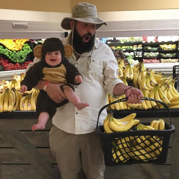 """<p>Zoe Tegan Solomon is a social media star in the making. Sure, she's only nine months old, but already the adorable baby has won countless hearts, thanks to her creative dad and his love for dress-ups.</p> <p>Zoe and her dad<a href=""""https://www.instagram.com/sbsolly/"""" target=""""_blank"""" draggable=""""false"""">Sholom Ber Solomon</a>have taken the internet by storm with their matching daddy-daughter photos which star the two in various guises, including this laugh-out-loud snap which appeared with the caption 'feeding time at the zoo'. We love this dad and babe so much that this is the second story we've run because frankly, we just can't get enough and we fancy you'll feel the same.</p> <p>Click through for more snort-inducing images of a sometimes smiling, occasionally-stunned Zoe posing with her loving papa.<br /> <br /> </p>"""