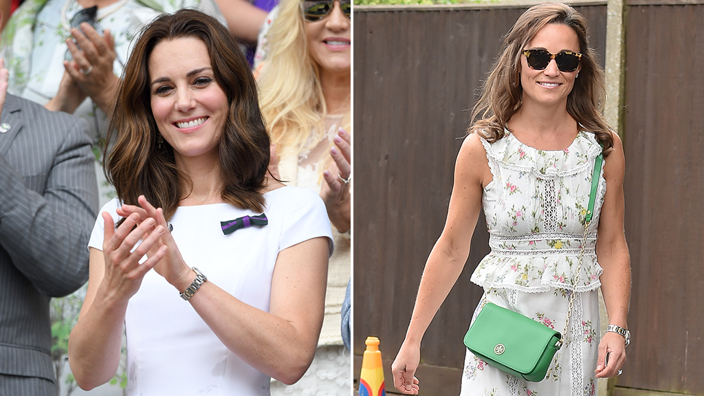 "<p>There can only be one winner at Wimbledon - and this year it's T<a href=""http://style.nine.com.au/duchess-of-cambridge"" target=""_blank"">he Duchess of Cambridge Kate Middleton. </a>Coming in at a close second is<a href=""http://style.nine.com.au/2017/06/05/13/32/pippa-middleton-honeymoon-blouse"" target=""_blank""> her sister, Pippa Middleton,</a> who also achieved some serious style wins during the two-week tennis tournament.<br /> <br /> For the Men's Singles Final yesterday, which saw Roger Federer win an historic eighth title, the Middleton sisters both donned floral sundresses.<br /> <br /> The Duchess of Cambridge, who is now Wimbledon's official patron, took her prime spot in the royal box in a cap-sleeved, white midi dresses with colourful floral trim at the hem. The dress was designed by one of her faves - Catherine Walker.</p> <p> Kate accessorised the look with a white Victoria Beckham tote and gold earrings by Cassandra Goad. Her most impressive accessory - Prince William, who impressed in a crisp, grey suit.<br /> <br /> Meanwhile, younger sister Pippa opted for an ankle length, bohemian-style dress from Weekend Max Mara. The newly-wed paired the romantic dress with a bright green clutch from Tory Burch.<br /> <br /> Click through to see all the fashion wins from the Middleton sisters at this year's Wimbledon.</p>"