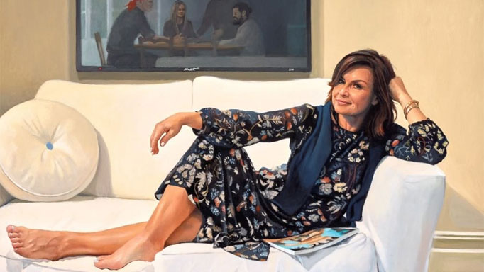 Lisa Wilkinson by Peter Smeeth