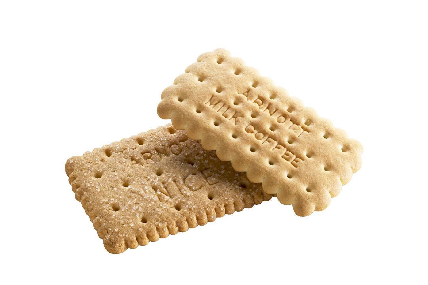 Arnott's Milk Coffee biscuit: Half a teaspoon of sugar