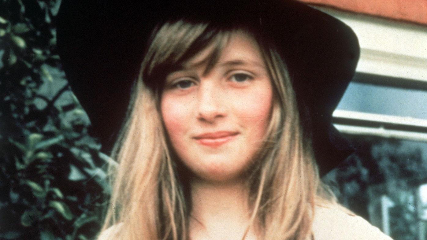 Lady Diana Spencer, 1971
