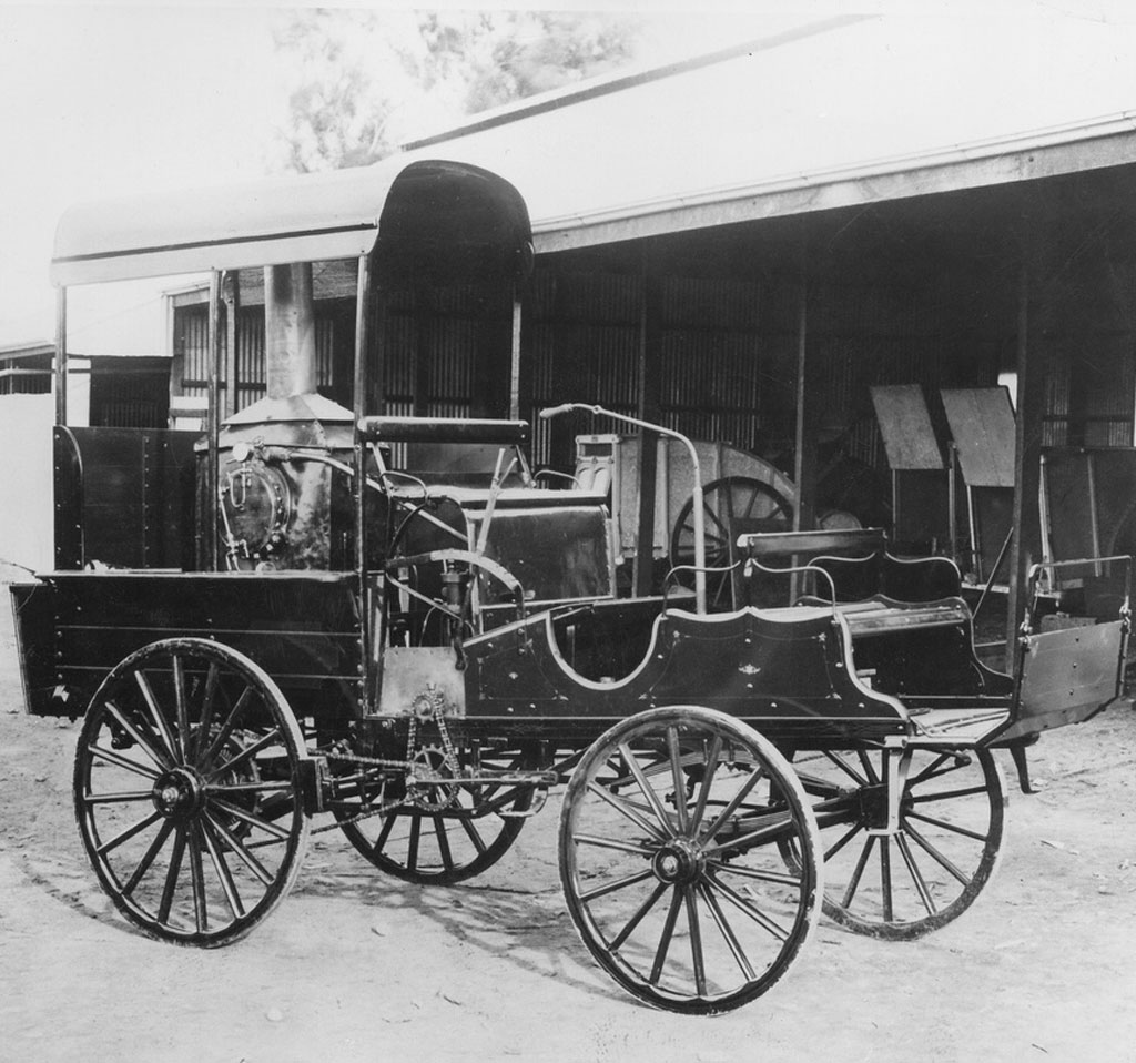 South Australian Inventor Built Steam Car To Prove Haters